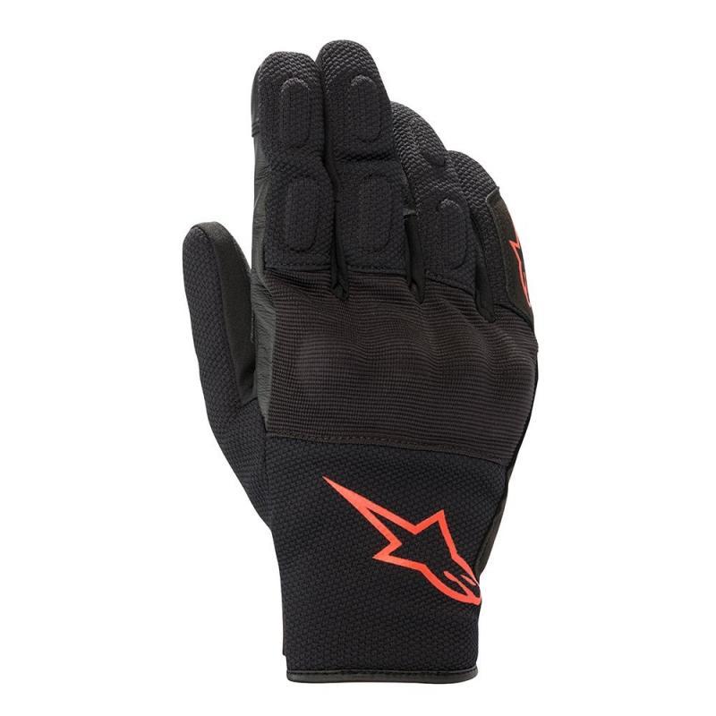 Alpinestars S-Max Drystar® Handskar Svart/Fluo-Röd