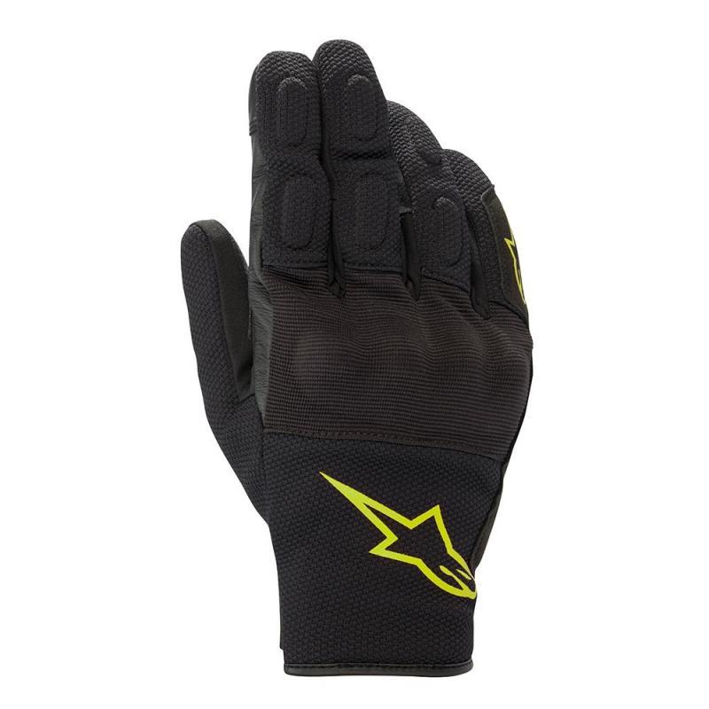 Alpinestars S-Max Drystar® Handskar Svart/Fluo-Gul