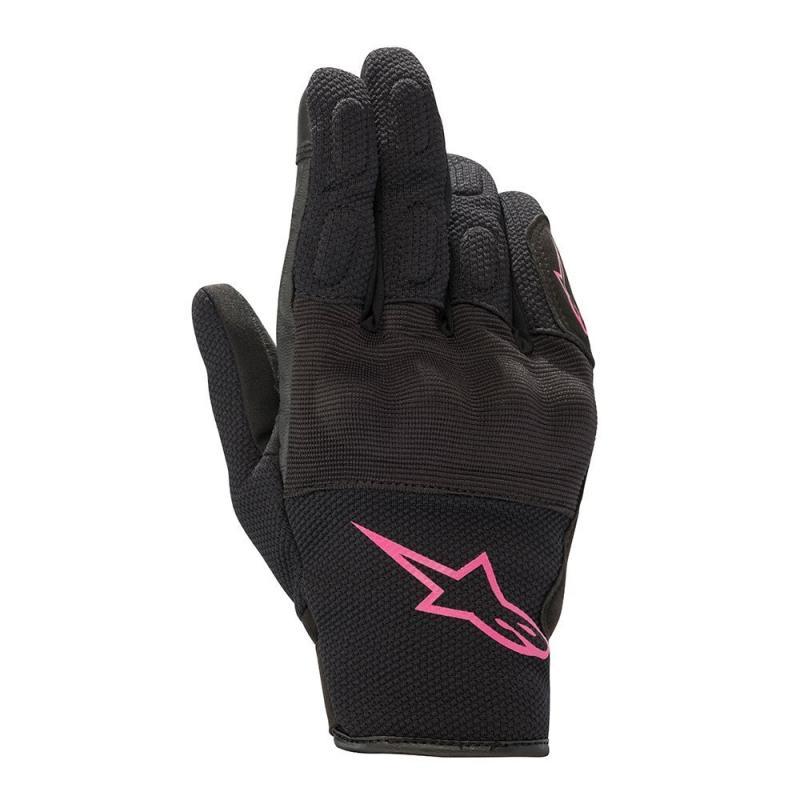 Alpinestars Stella S-Max Drystar® Dam Handskar Svart/Rosa