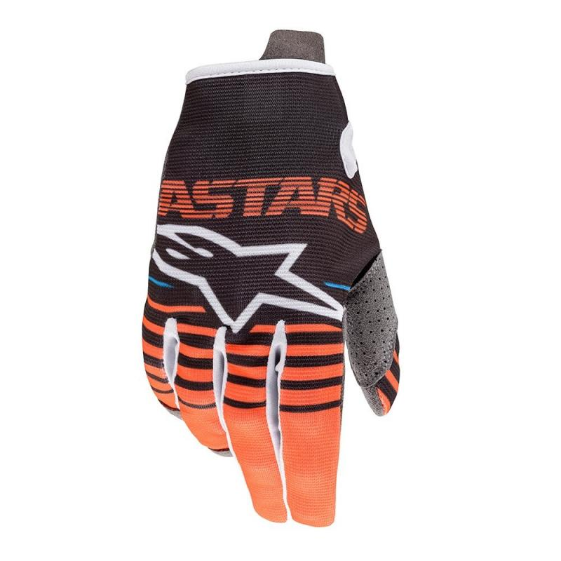 Alpinestars Radar Barn Crosshandskar Antracite/Fluo-Orange