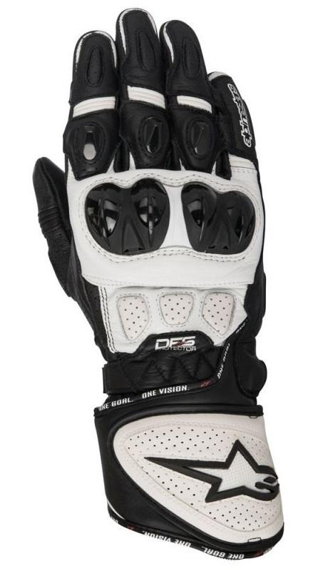 Alpinestars GP Plus R Handskar Svart/Vit
