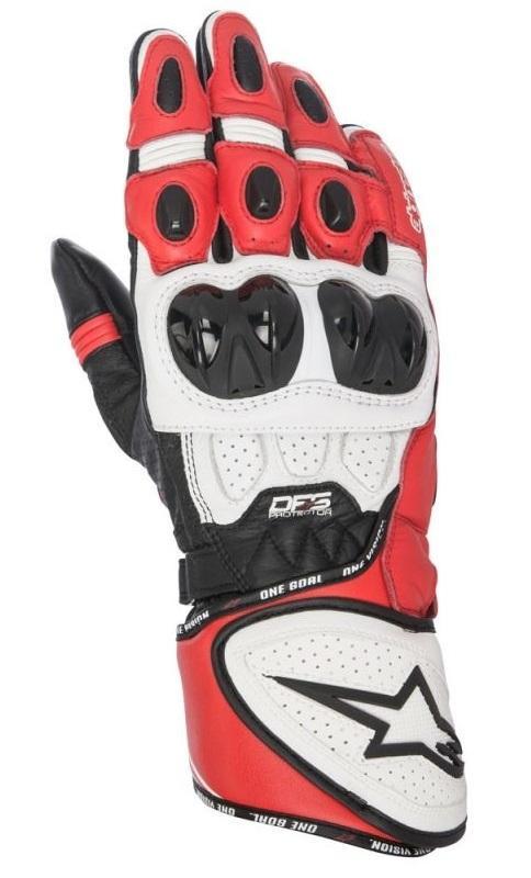 Alpinestars GP Plus R Handskar Svart/Vit/Röd