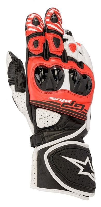 Alpinestars GP Plus R V2 Handskar Svart/Vit/Röd