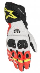 Alpinestars GP Pro R2 Handske Svart/Vit/Röd/Fluo