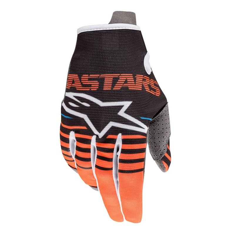 Alpinestars Radar Crosshandskar Antracite/Fluo-Orange