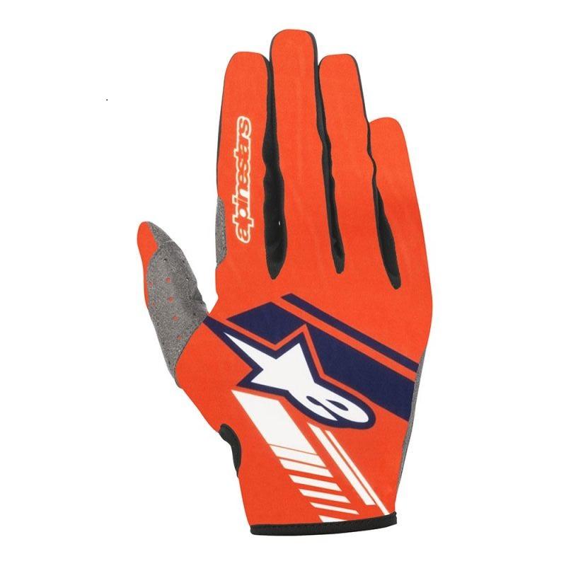 Alpinestars Neo Crosshandskar Fluo Orange/Blå