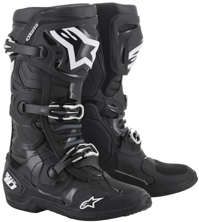Alpinestars Tech 10 Crosstövlar Svart