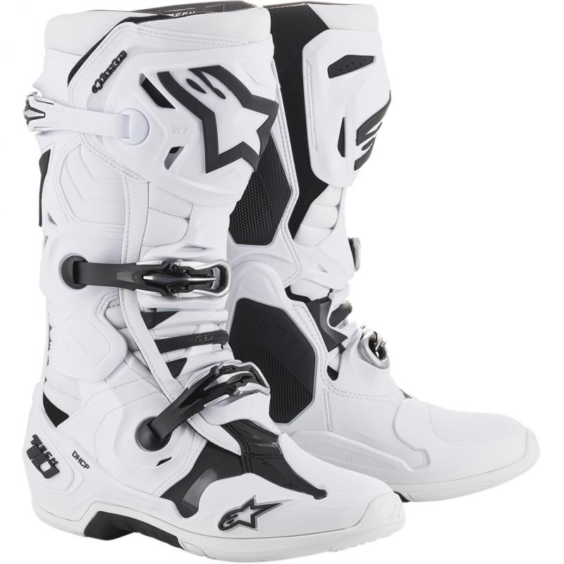 Alpinestars Tech 10 Crosstövlar Vit