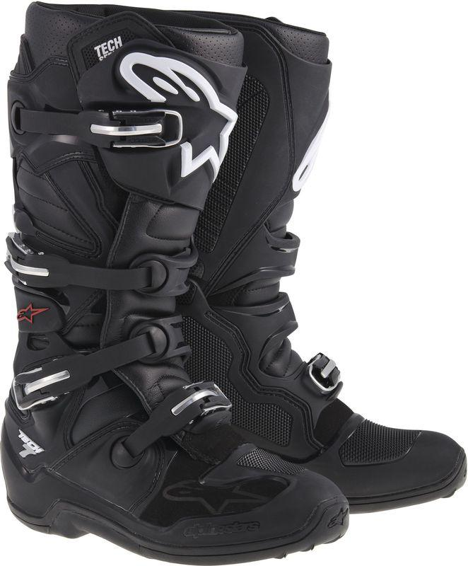 Alpinestars Tech 7 Crosstövlar Svart