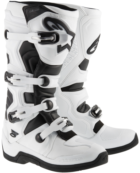 Alpinestars Tech 5 Crosstövlar Vit