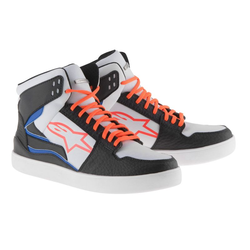 Alpinestars Stadium Skor Svart/Fluo Orange