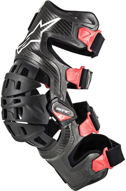 Alpinestars Bionic 10 Carbon  Knäskydd VÄNSTER