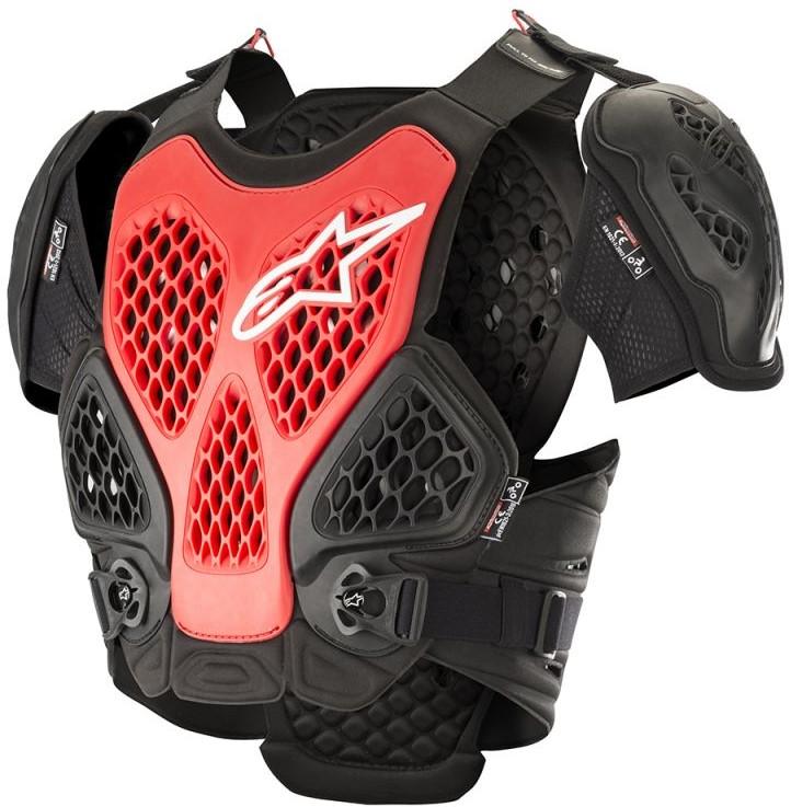 Alpinestars Bionic Bröstskydd Svart/Röd