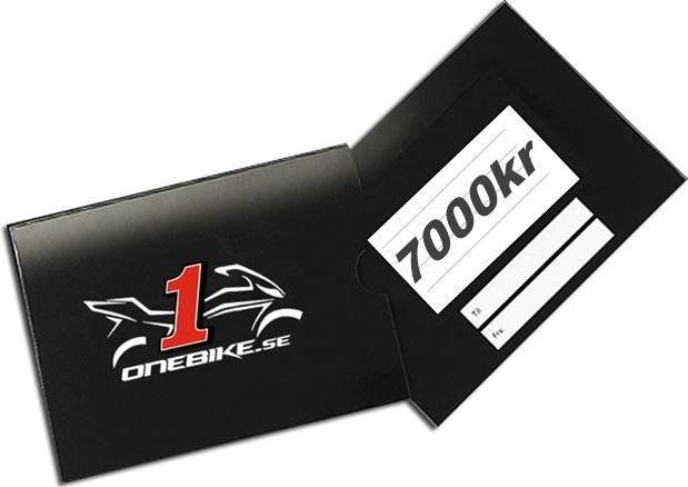Presentkort 7000kr