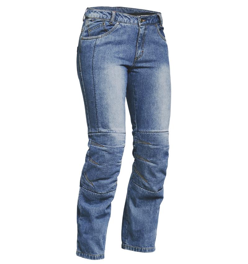 Lindstrands Wrap Dam Jeans Blå