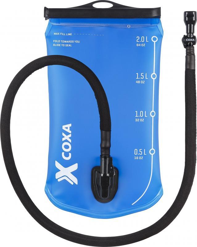 Coxa 2L Vätskesystem med Isolerad slang & Rakt munstycke