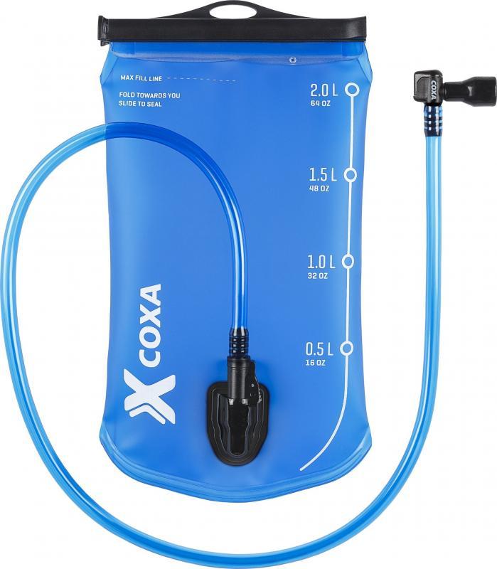 Coxa 2L Vätskesystem med Oisolerad slang & 90° munstycke