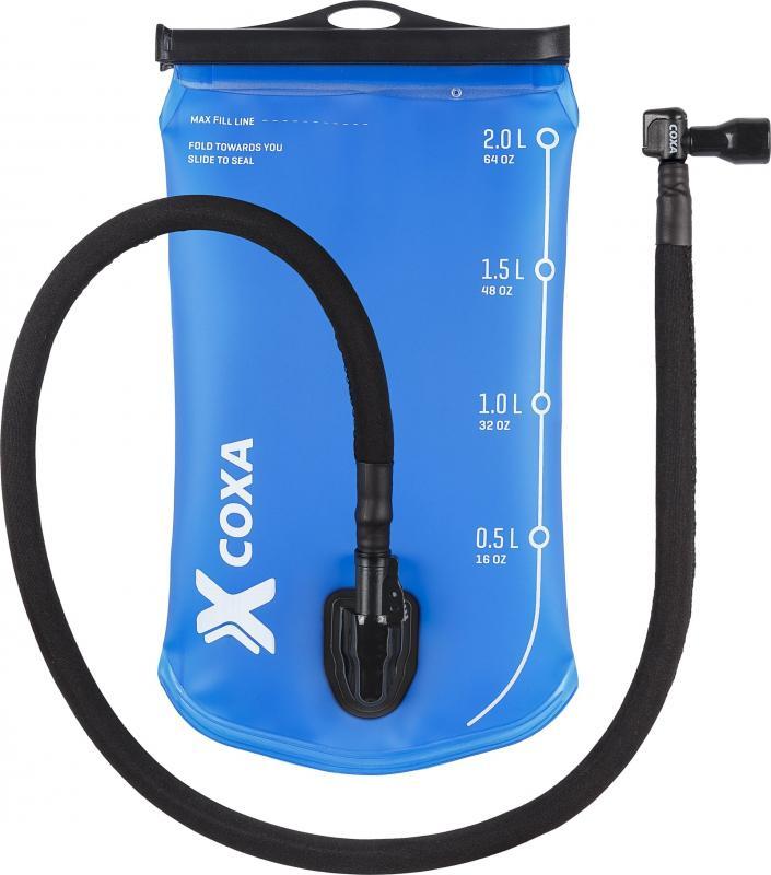 Coxa 2L Vätskesystem med Isolerad slang & 90° munstycke
