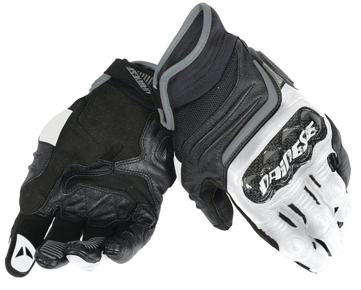 Dainese Carbon D1 Handske Svart/Vit/Antracite
