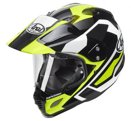 Arai Tour-X4 Catch Hjälm Gul