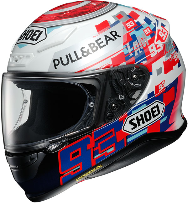 Shoei NXR Marquez Power  PU TC-1 Hjälm
