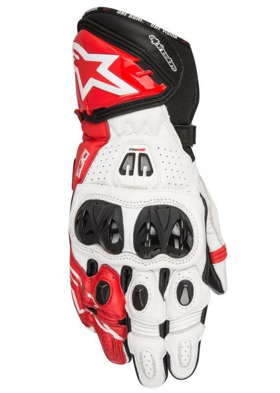 Alpinestars GP Pro R2 Handske Svart/Vit/Röd