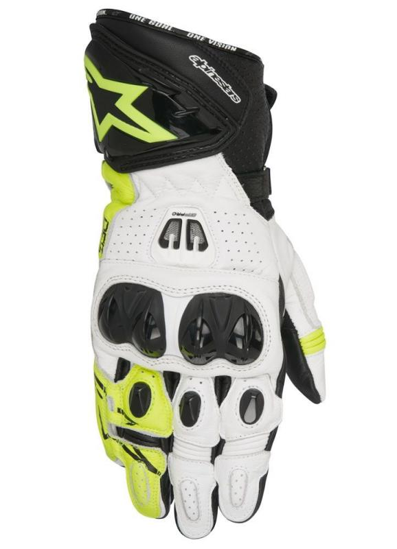 Alpinestars GP Pro R2 Handske Svart/Vit/Flou
