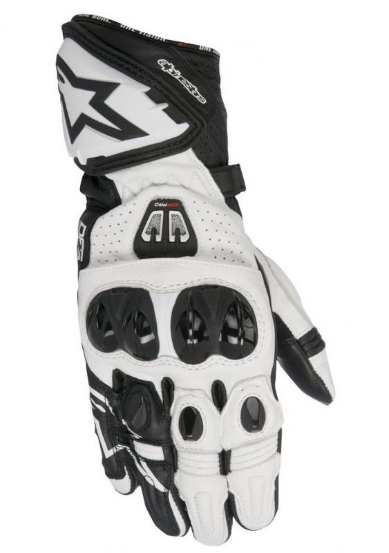 Alpinestars GP Pro R2 Handske Svart/Vit