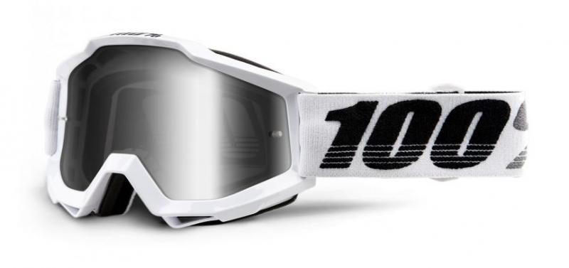 100% Accuri Galactica Crossglasögon, Silverspegel Siktskiva