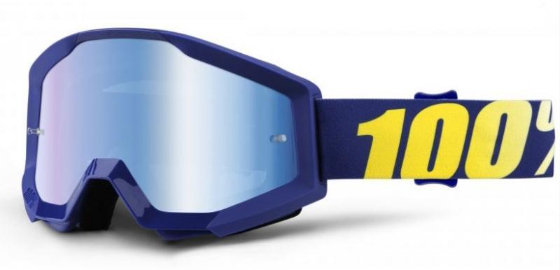 100% Strata Hope Crossglasögon Blå, Blåspegel Siktskiva