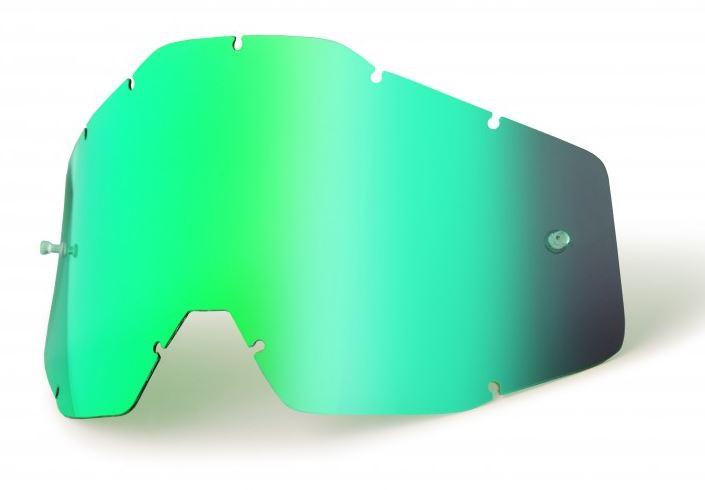 100% Enkel Siktskiva Grönspegel