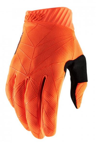100% Ridefit Crosshandskar Neon Orange/Svart