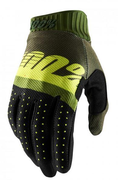 100% Ridefit Crosshandskar Grön/Neon Lime