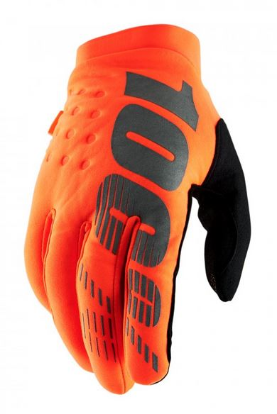 100% Brisker Crosshandskar Orange/Svart