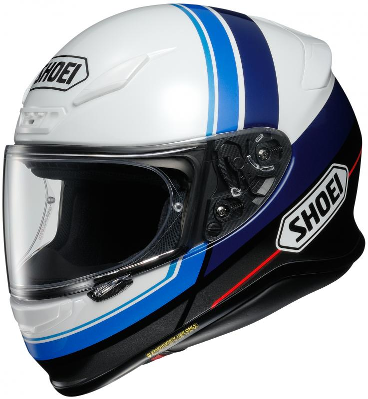Shoei NXR Philosopher TC-2 Hjälm Svart/Vit/Blå
