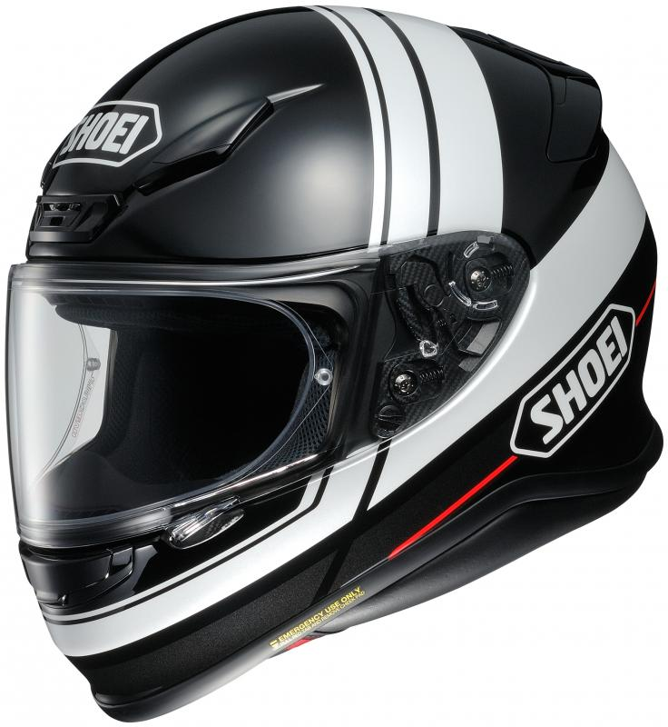 Shoei NXR Philosopher TC-5 Hjälm Svart/Vit