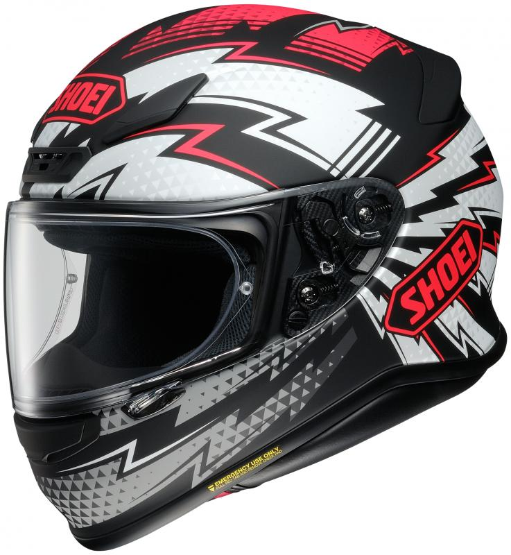 Shoei NXR Variable TC-1 Hjälm Svart/Vit/Röd
