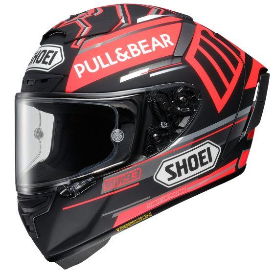 Shoei X-spirit 3 Marquez Black Concept TC-1 Hjälm Svart/Röd