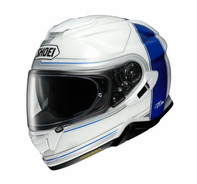 Shoei GT-Air 2 Crossbar TC-2 Hjälm Vit/Blå