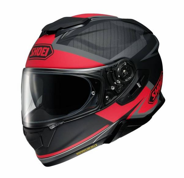 Shoei GT-Air 2 Affair TC-1 Hjälm Svart/Röd
