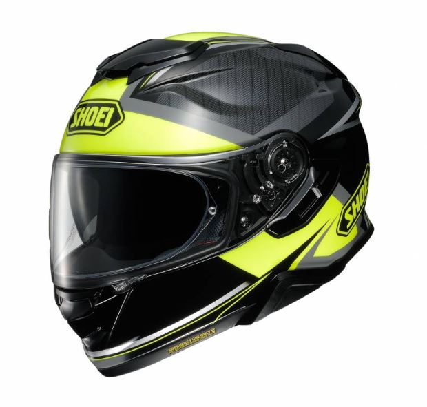 Shoei GT-Air 2 Affair TC-3 Hjälm Svart/Fluo Gul