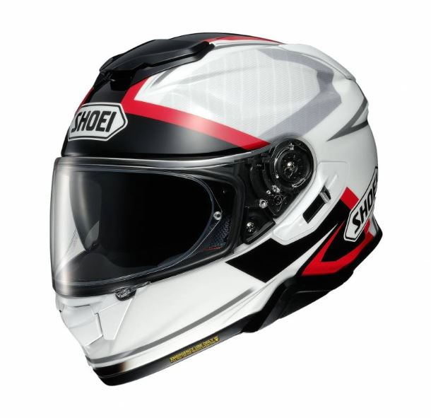 Shoei GT-Air 2 Affair TC-6 Hjälm Vit/Svart/Röd