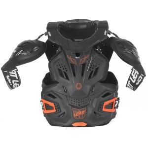 Leatt Fusion 3.0 Skyddsväst Svart/Orange