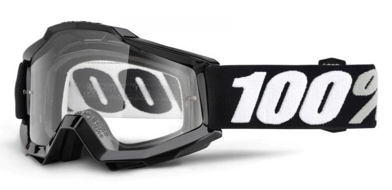 100% Accuri Tornado Crossglasögon, Klar Siktskiva