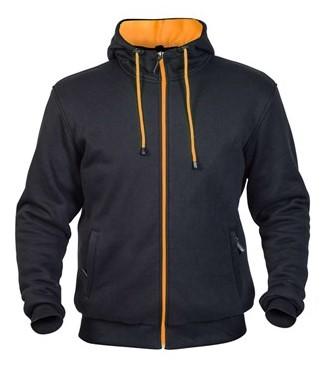 Twice Robin Herr Textil Hoodie Svart/Orange