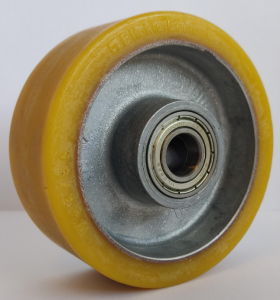Wheel. Spare part for the support leg. 54xØ80
