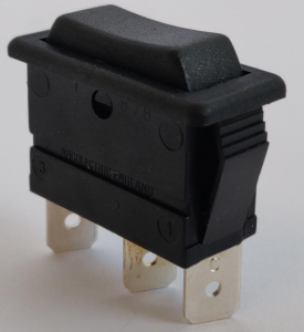 Switch (Handle). Spare part for the electrical system.