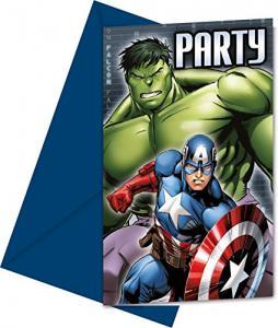 Avengers Inbjudningskort