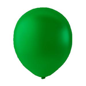Latex ballonger mörkgrön