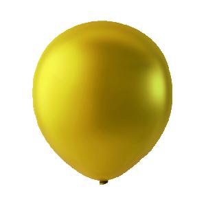 Latex ballonger Metallic guld